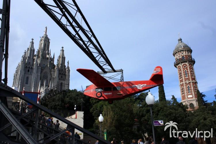 Wesołe miasteczko na Tibidabo w Barcelonie