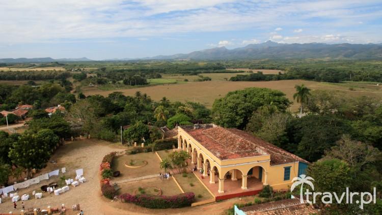 Widok z wieży w Valle de los Ingenios