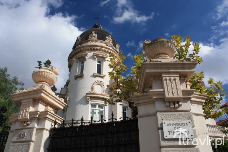 Willa na Avinguda del Tibidabo, Barcelona