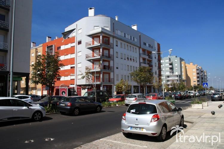 Współczesne portugalskie osiedle