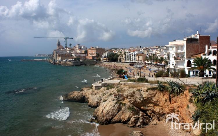 Wybrzeże w Sitges