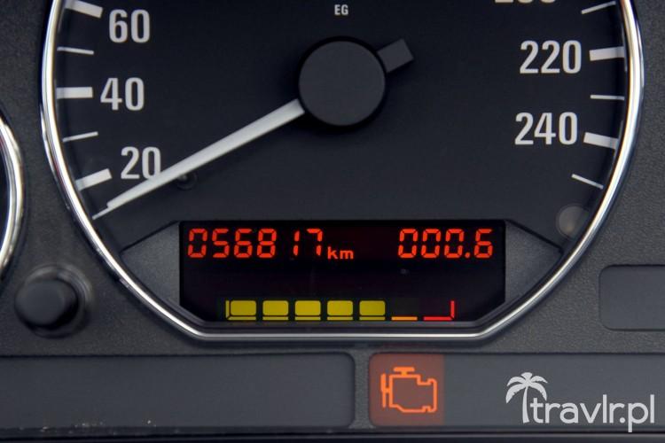 Zegary w BMW Z3